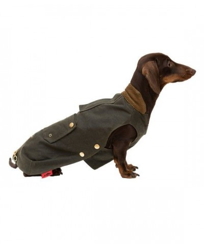 Olive Barbour type Coat