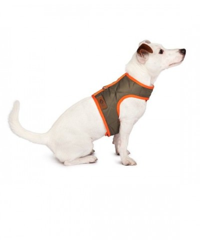 Olive quilted harness