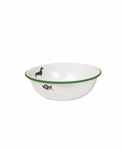 Enameled Steel Bowl (0,35 liters) Mod Teckel