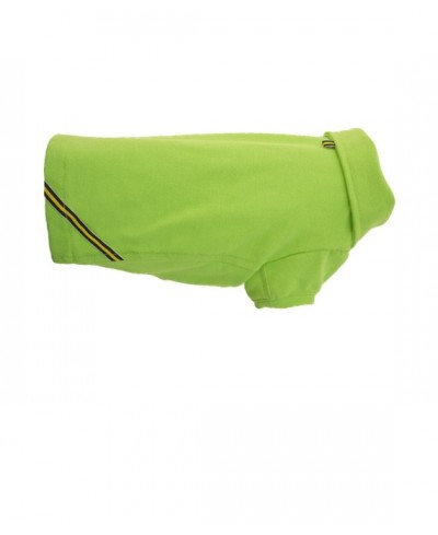 Classic green dog polo shirt