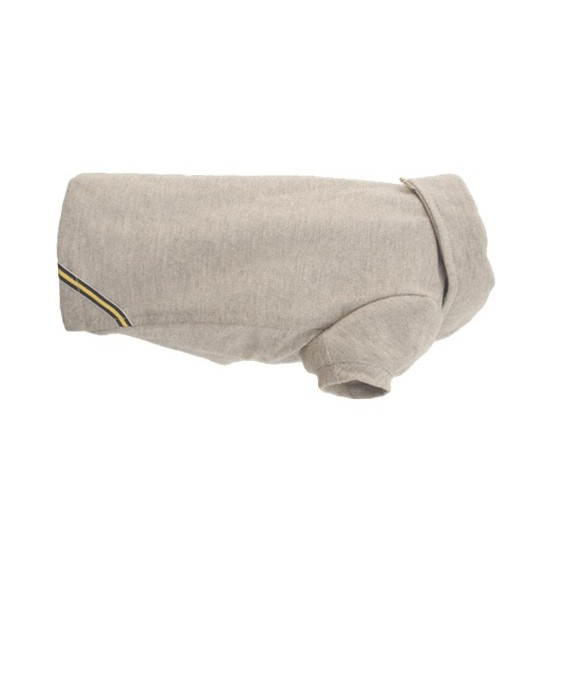 Classic grey dog polo shirt