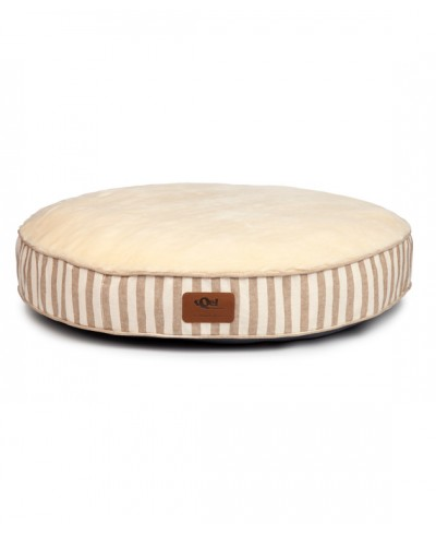 Round bed cover for dogs