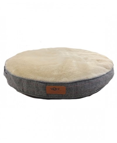 Voss grey dog bed