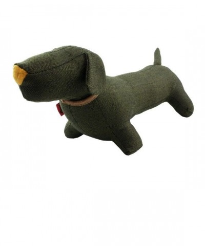 Deco Teckel dog  Tweed olive