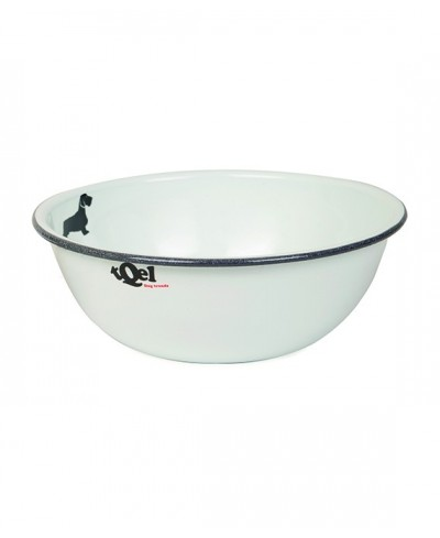 Enameled Steel Bowl (1 litre) . Mod Teckel