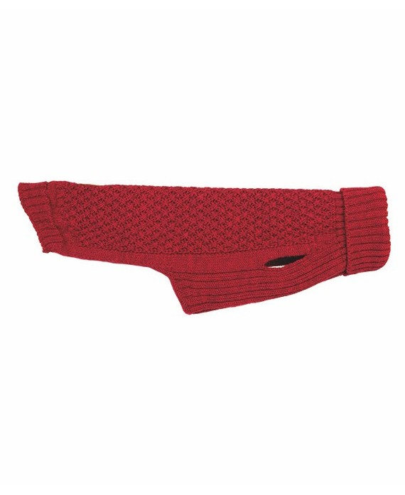 Grey Knitted Jersey – Elton Red
